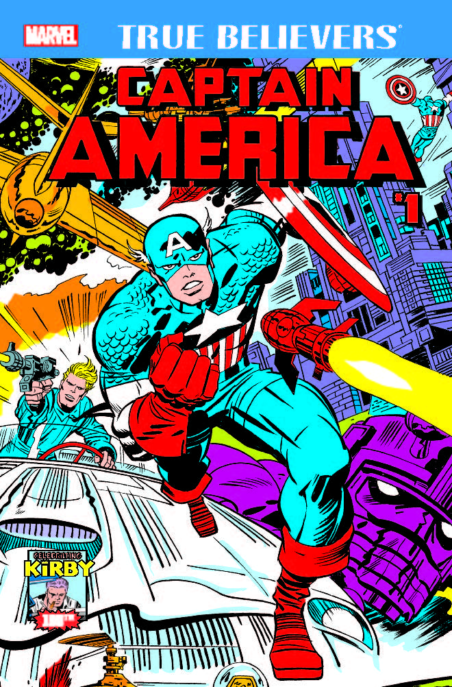 True Believers: Kirby 100th - Captain America (2017) #1