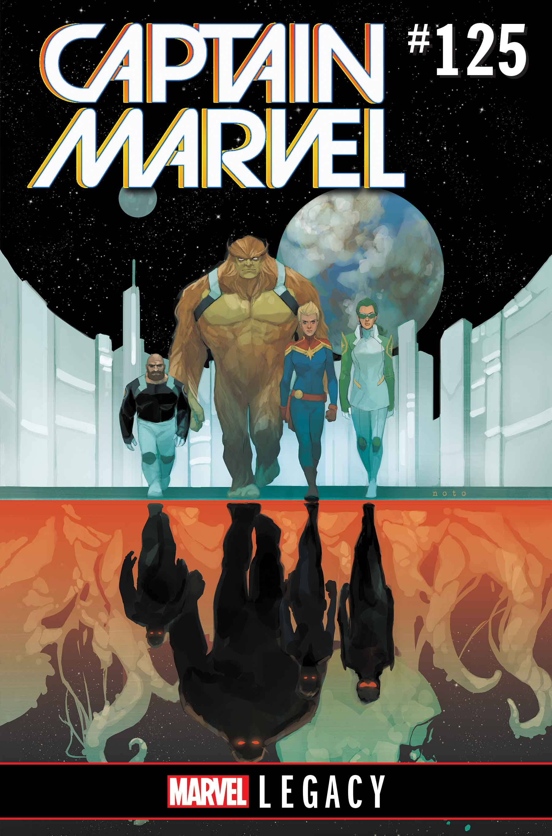 The Mighty Captain Marvel (2017) #125