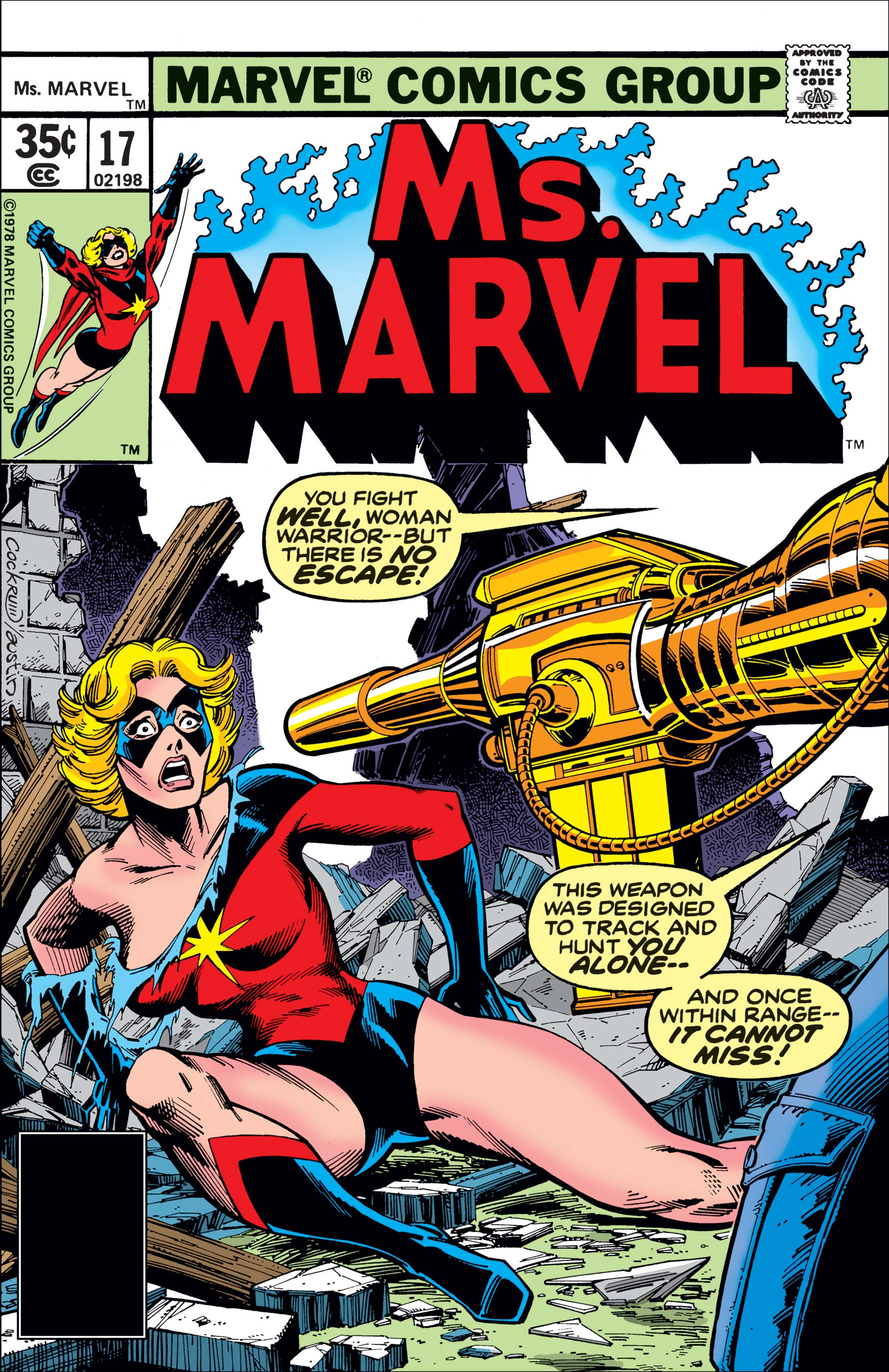 Ms. Marvel (1977) #17