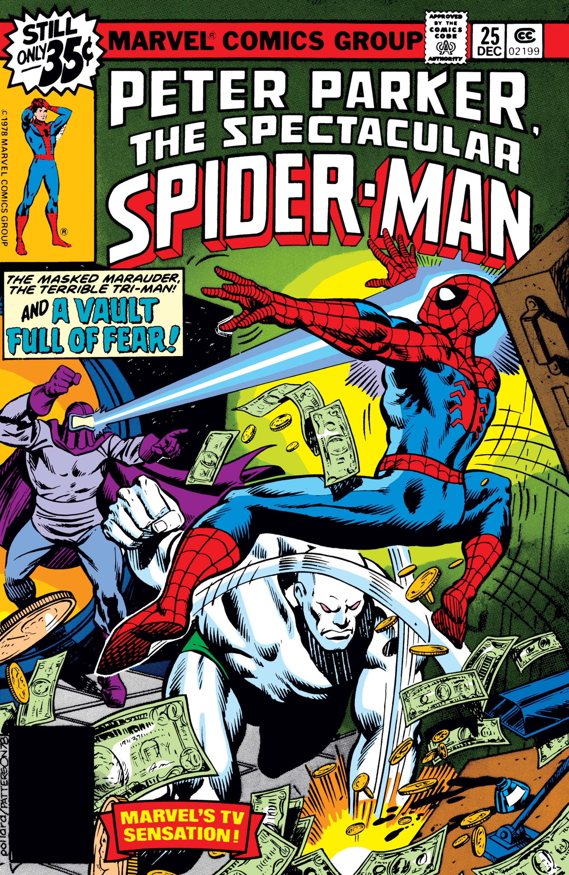 Peter Parker, the Spectacular Spider-Man (1976) #25