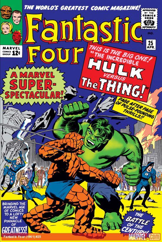 Fantastic Four (1961) #25