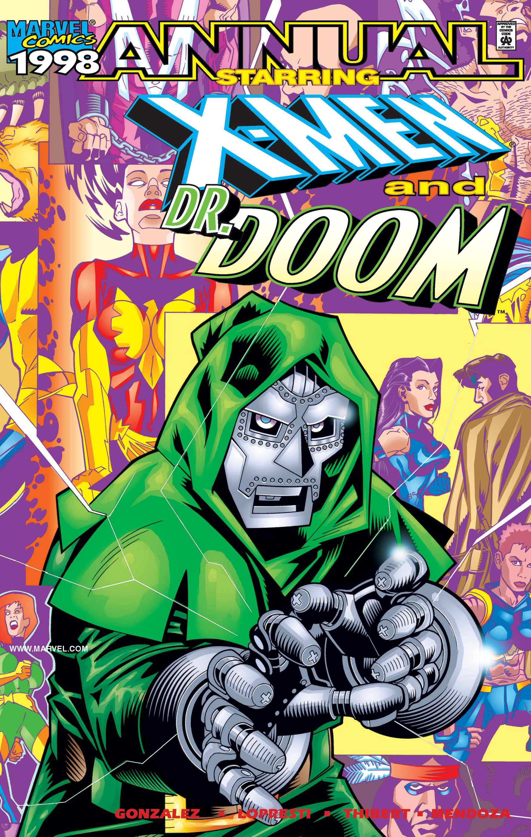 X-Men/Dr. Doom Annual (1998) #1
