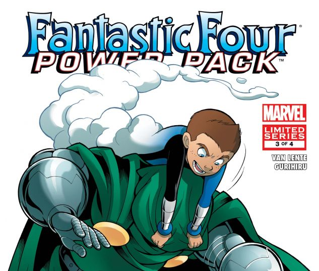 FANTASTIC FOUR AND POWER PACK (2007) #3