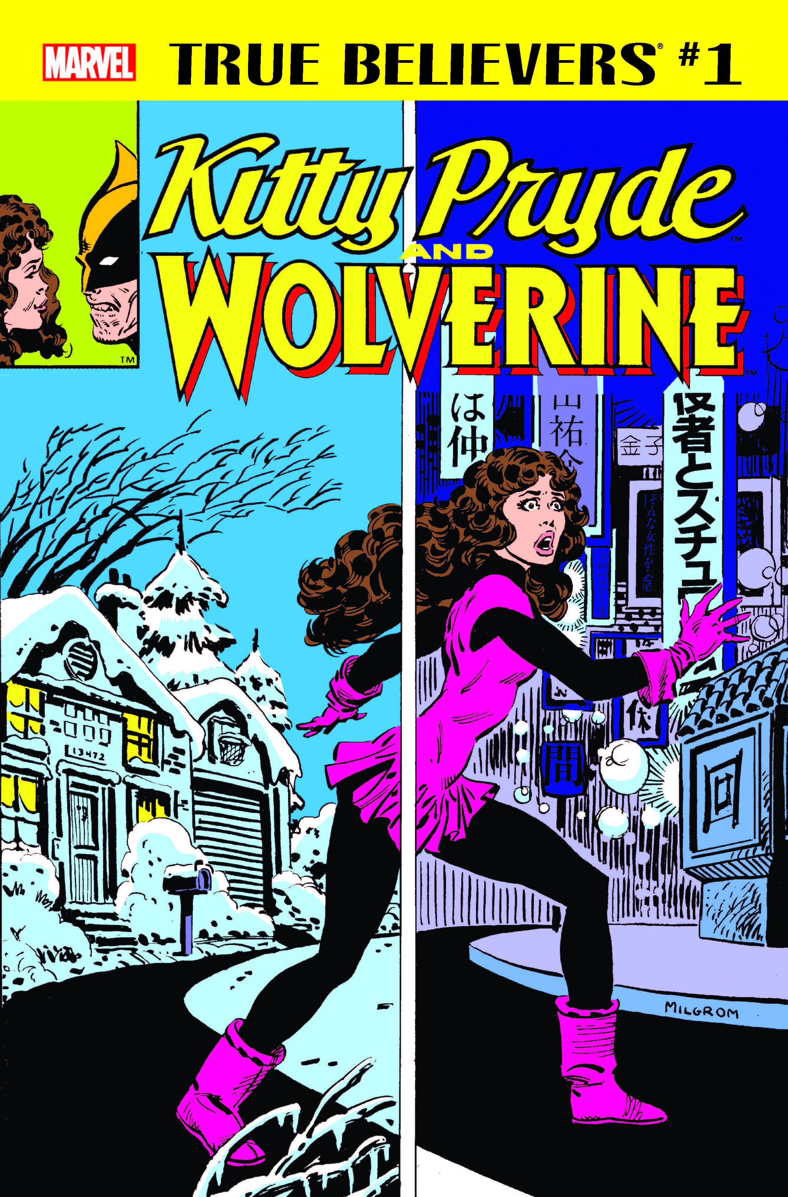 True Believers: Kitty Pryde and Wolverine (2018) #1