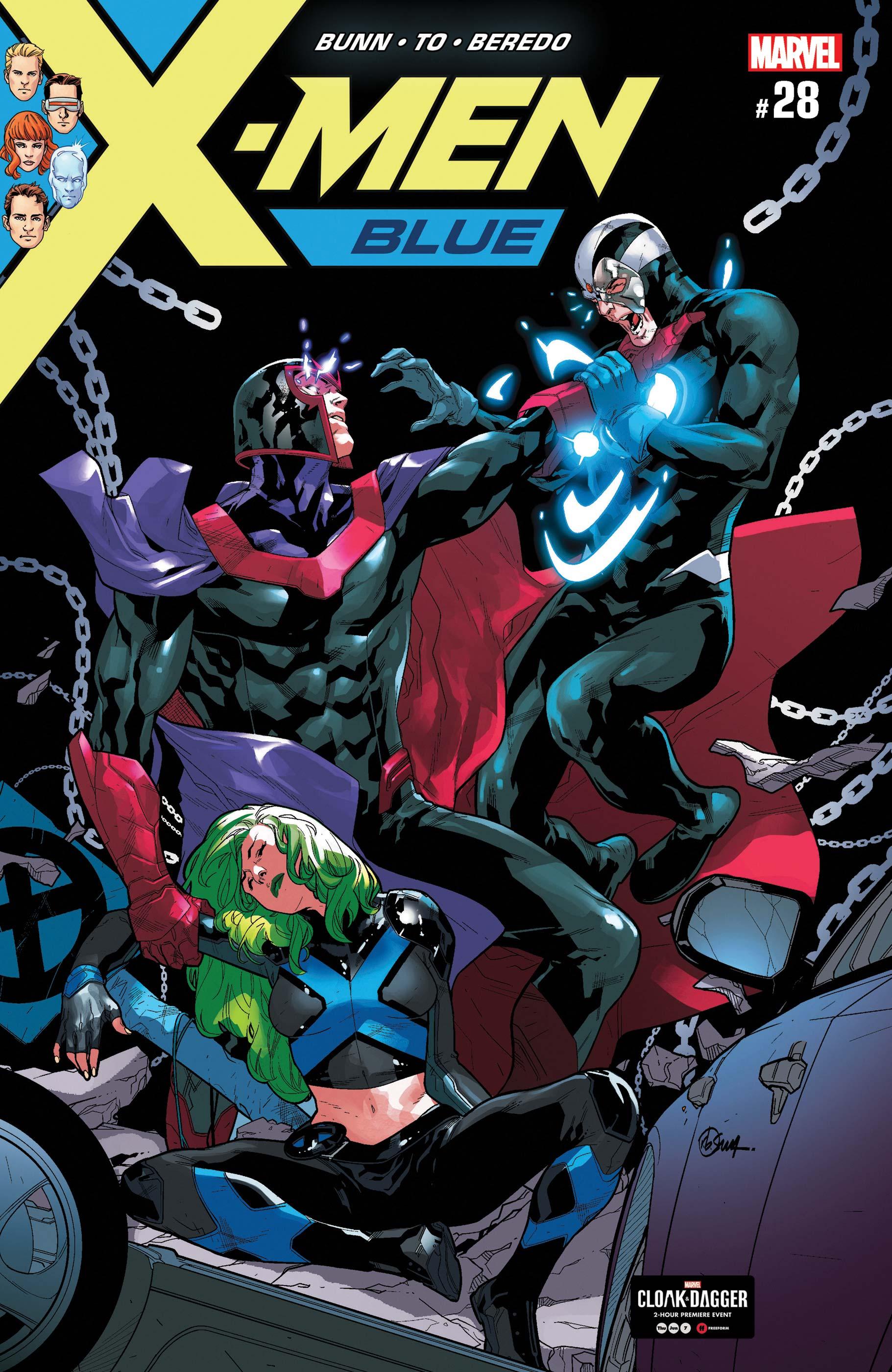 X-Men: Blue (2017) #28