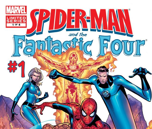 Spider-Man Is Now A Member Of The Fantastic Four