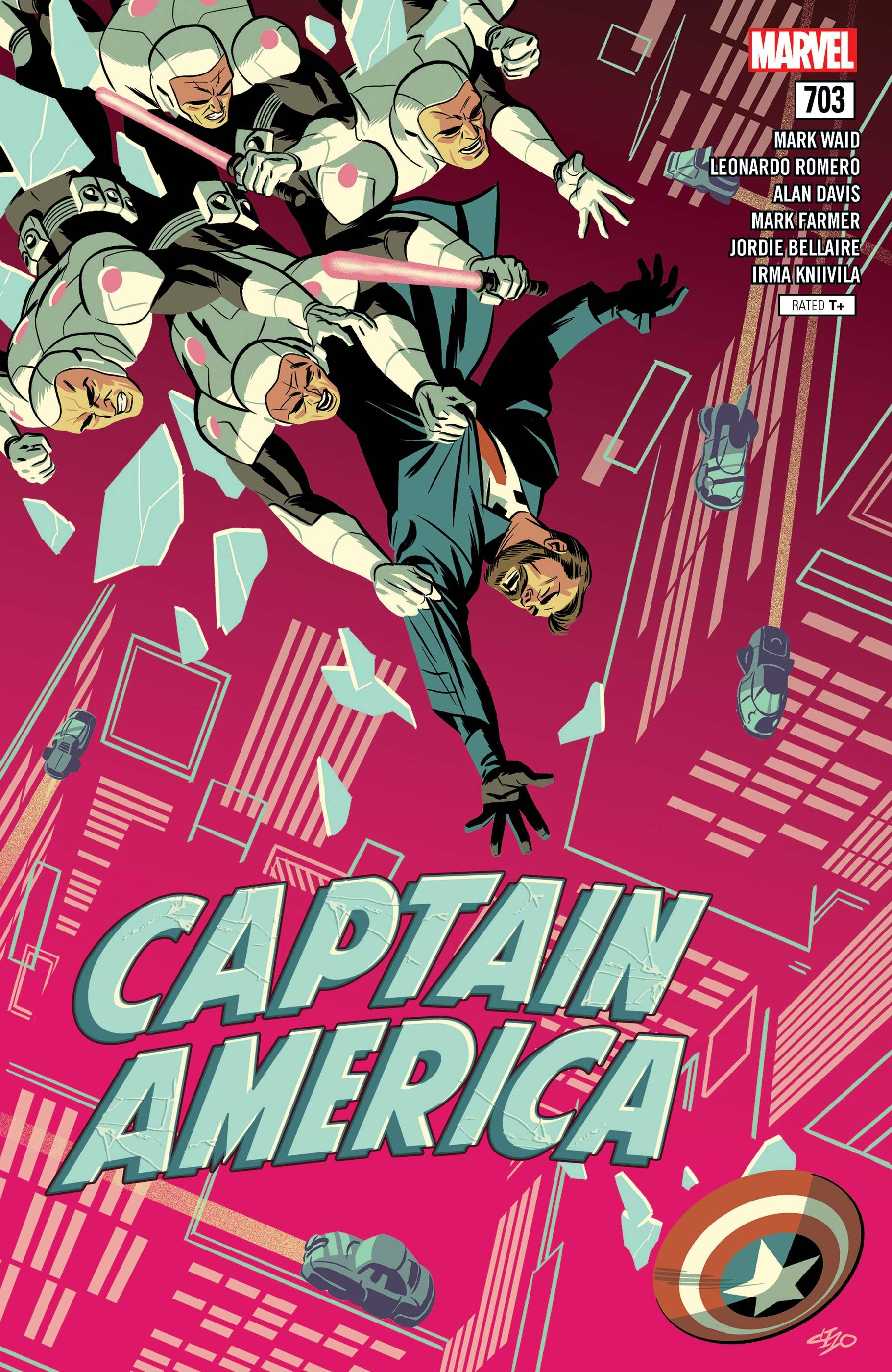 Captain America (2017) #703