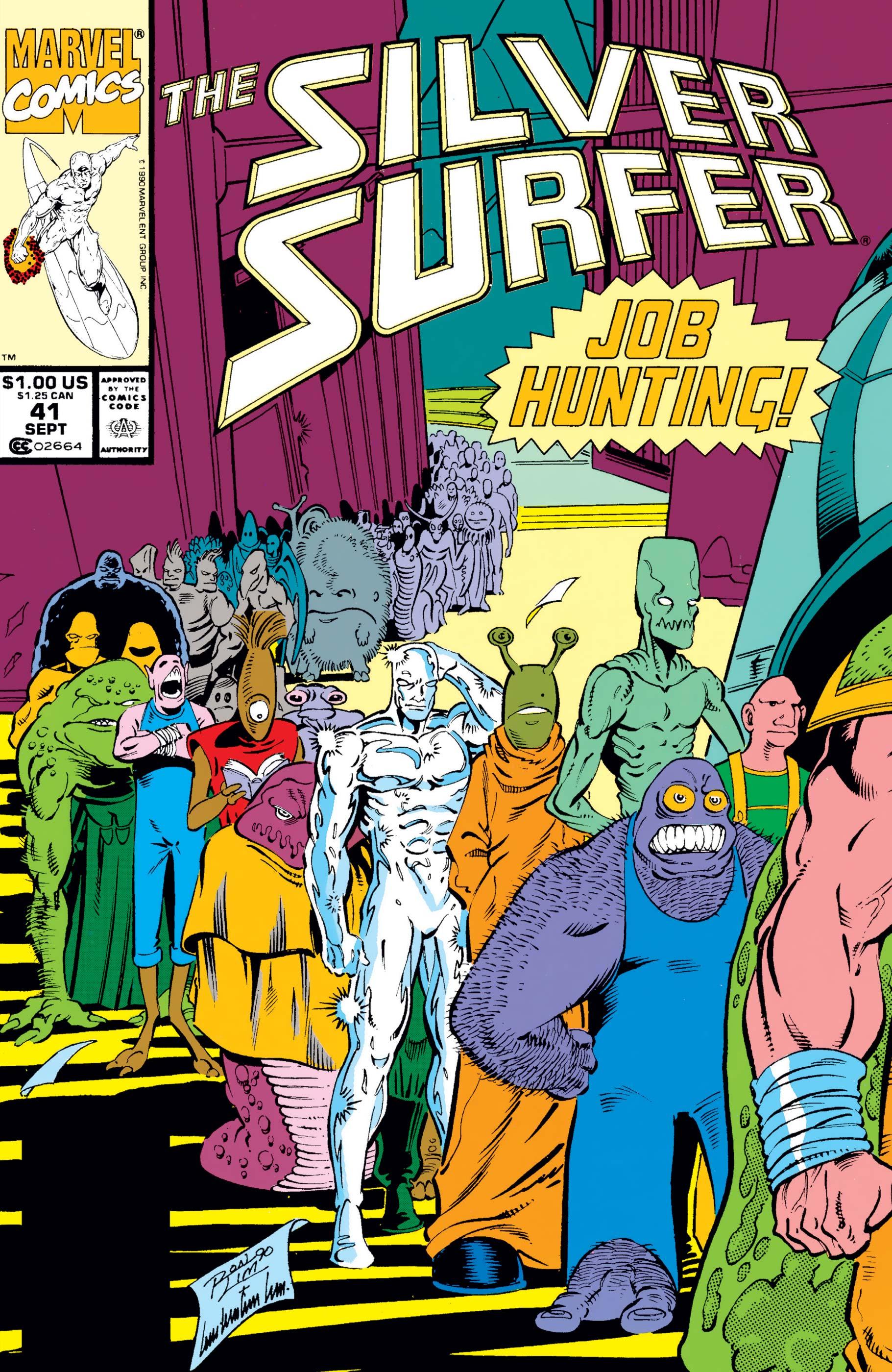 Silver Surfer (1987) #41