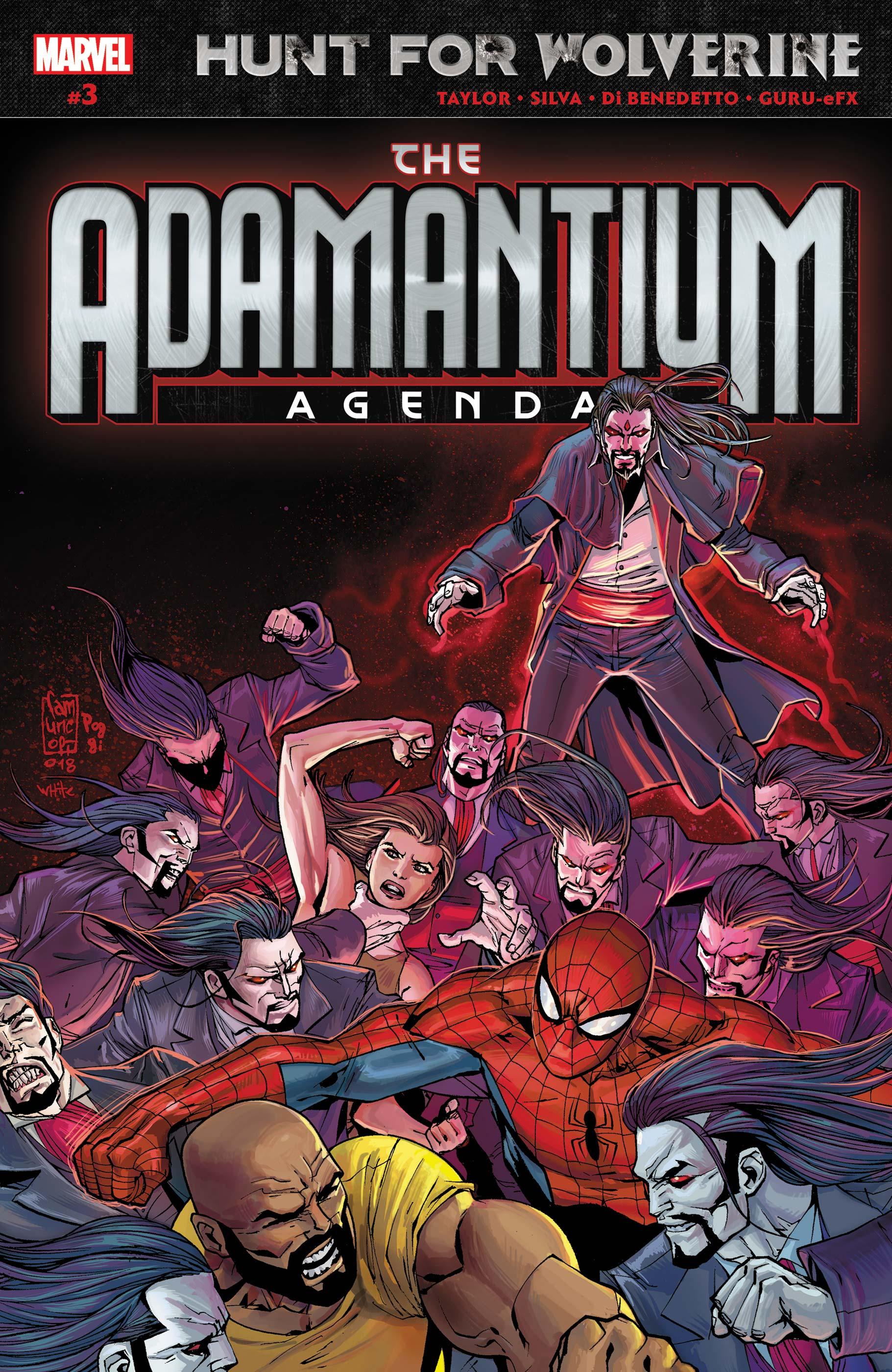 Hunt for Wolverine: Adamantium Agenda (2018) #3