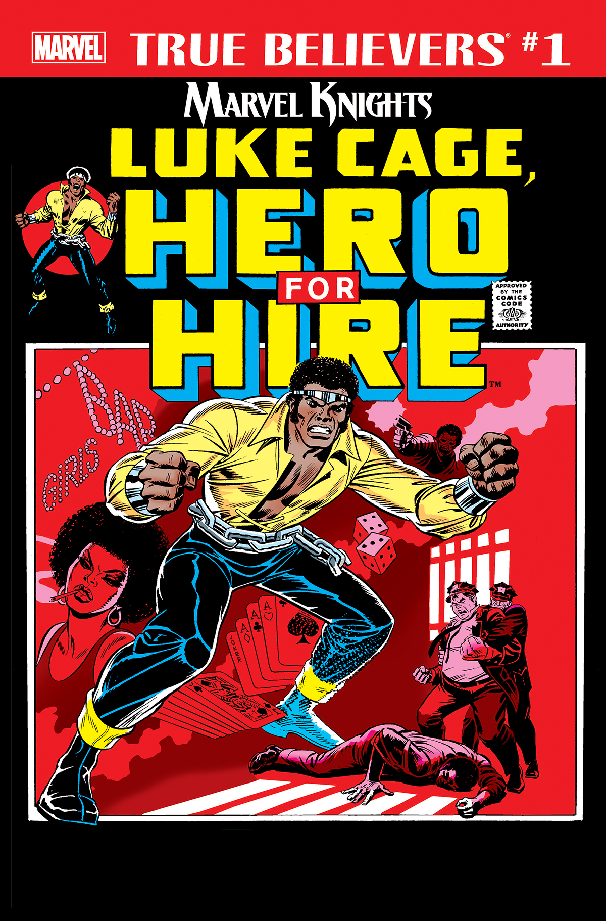 True Believers: Marvel Knights 20th Anniversary - Luke Cage, Hero for Hire (2018) #1