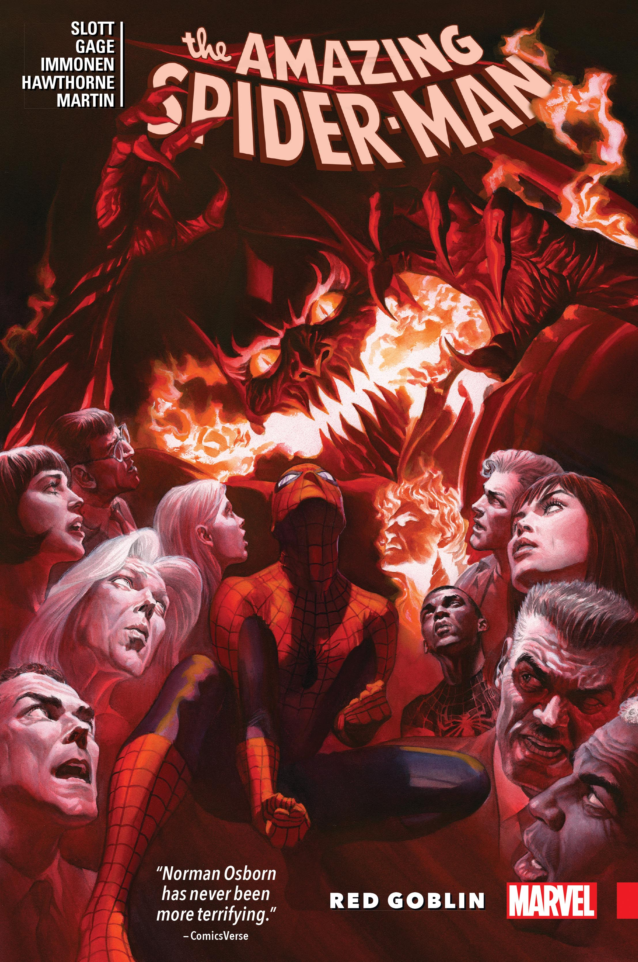 Amazing Spider-Man: Red Goblin (Hardcover)