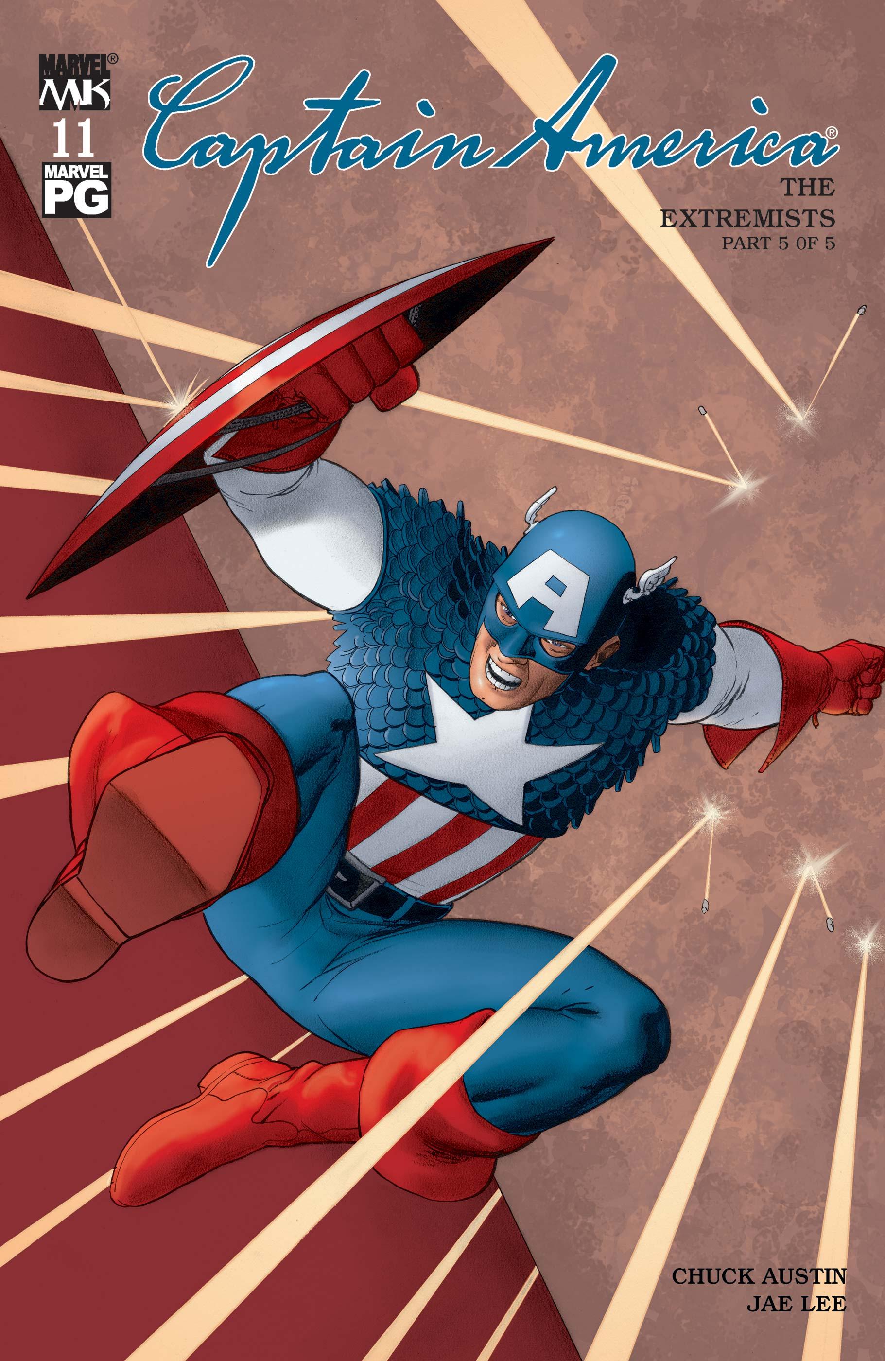 Captain America (2002) #11