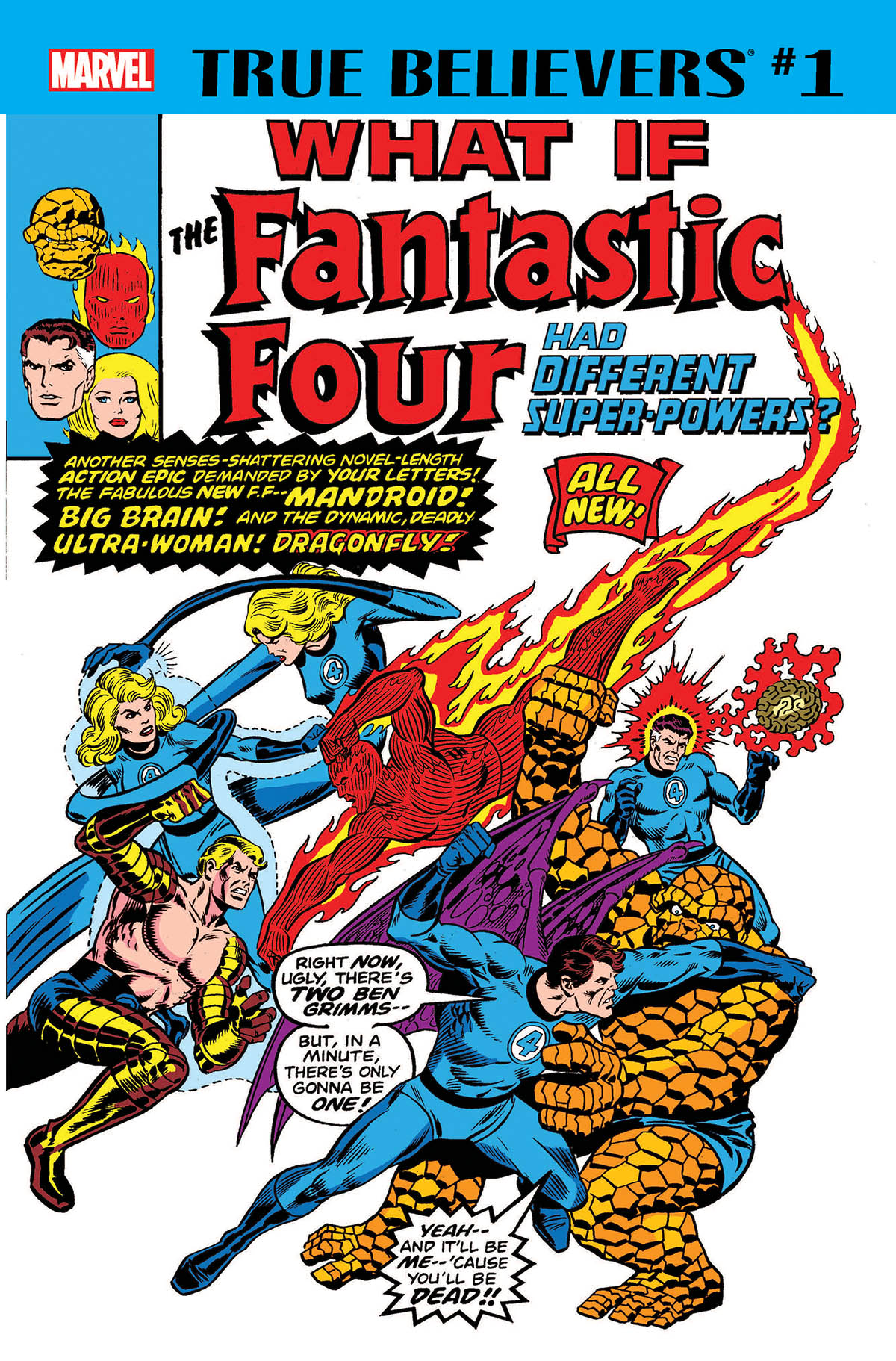 True Believers: What If The Fantastic Four Had Different Super-Powers? (2018) #1