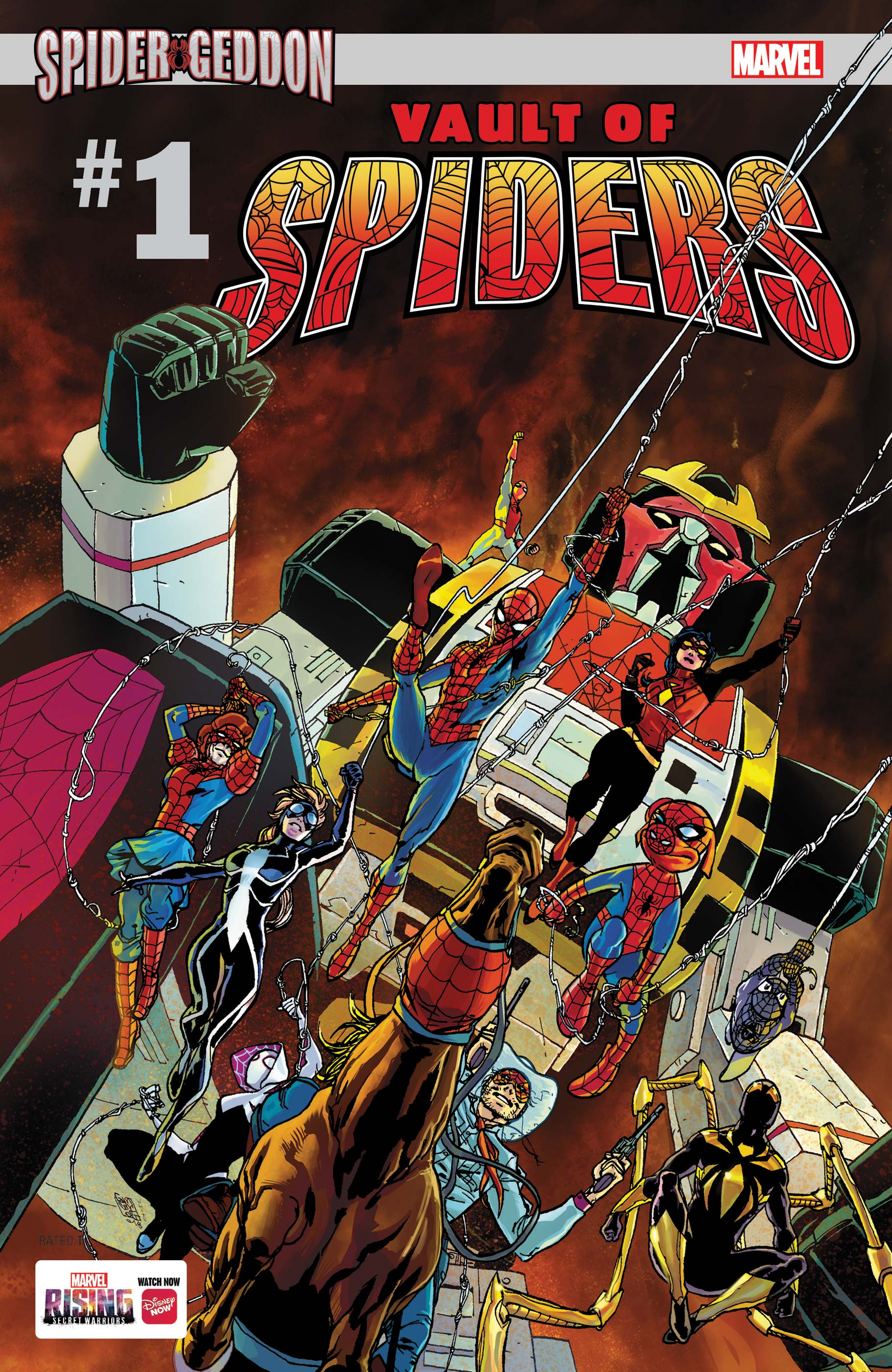 Vault of Spiders (2018) #1