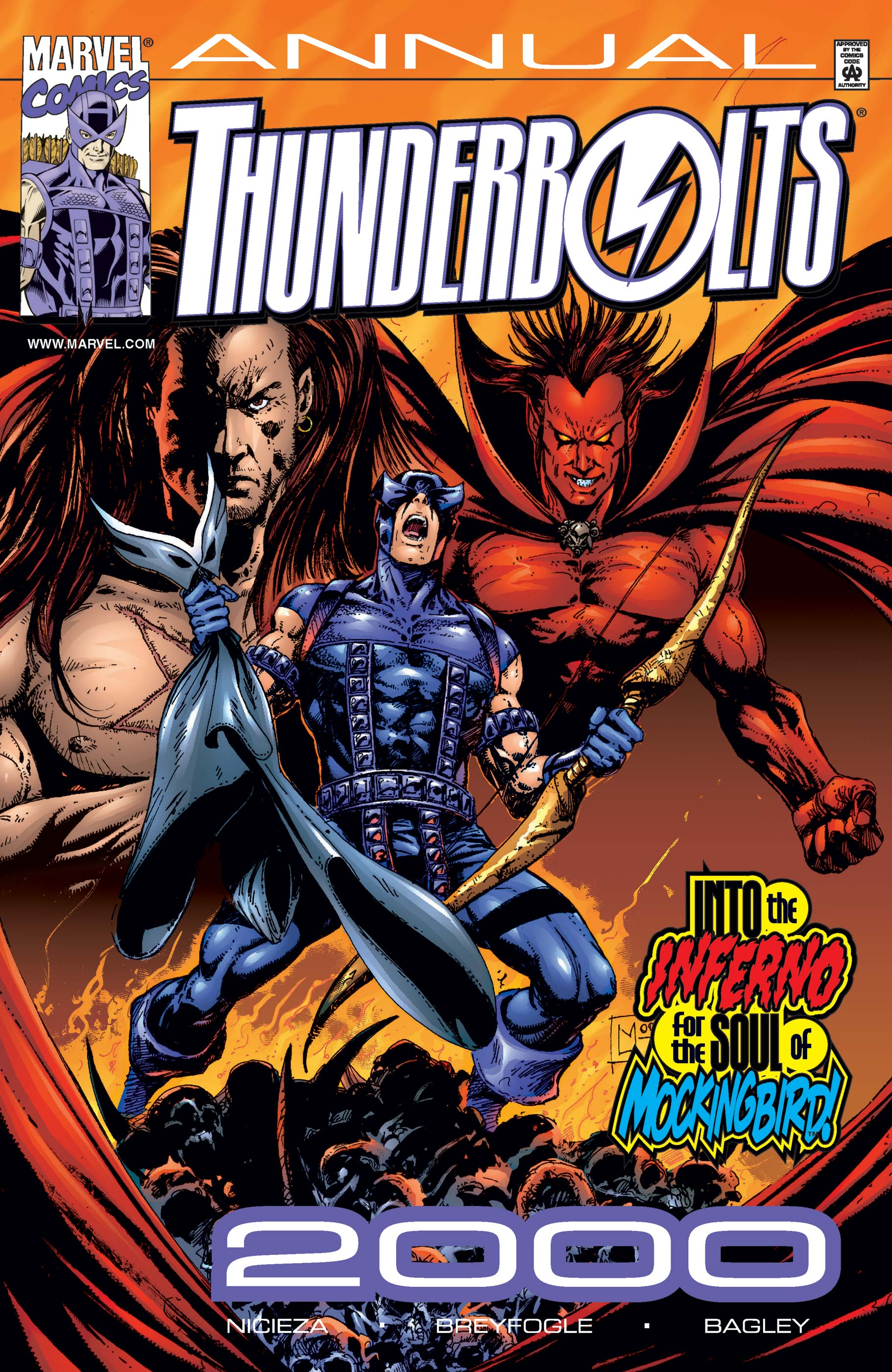 Thunderbolts Annual (2000) #1
