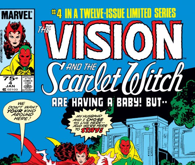 VISION AND THE SCARLET WITCH (1985) #4