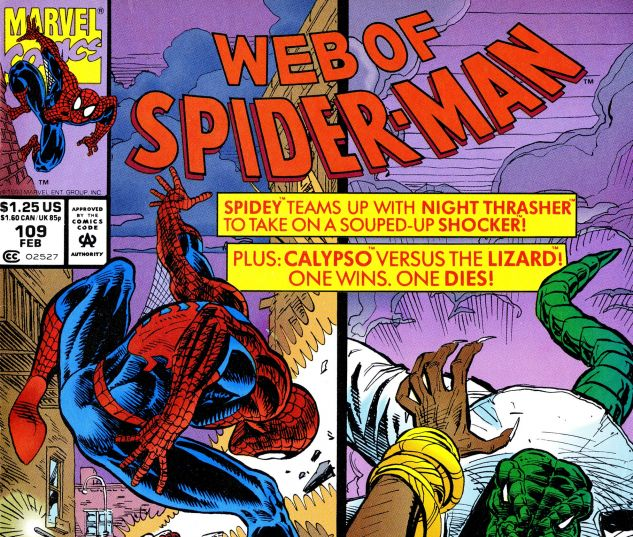 Web of Spider-Man (1985) #109