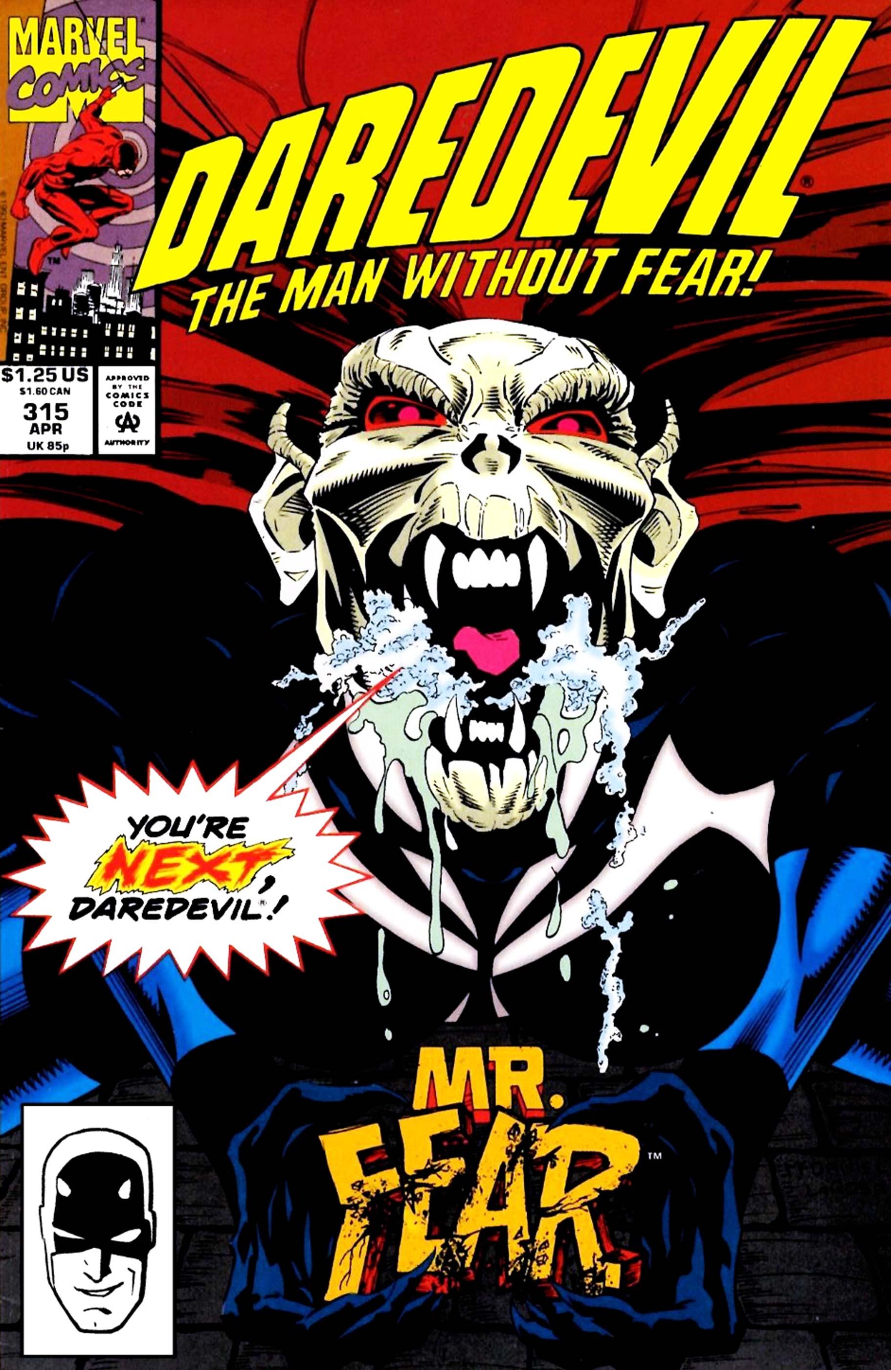 Daredevil (1964) #315