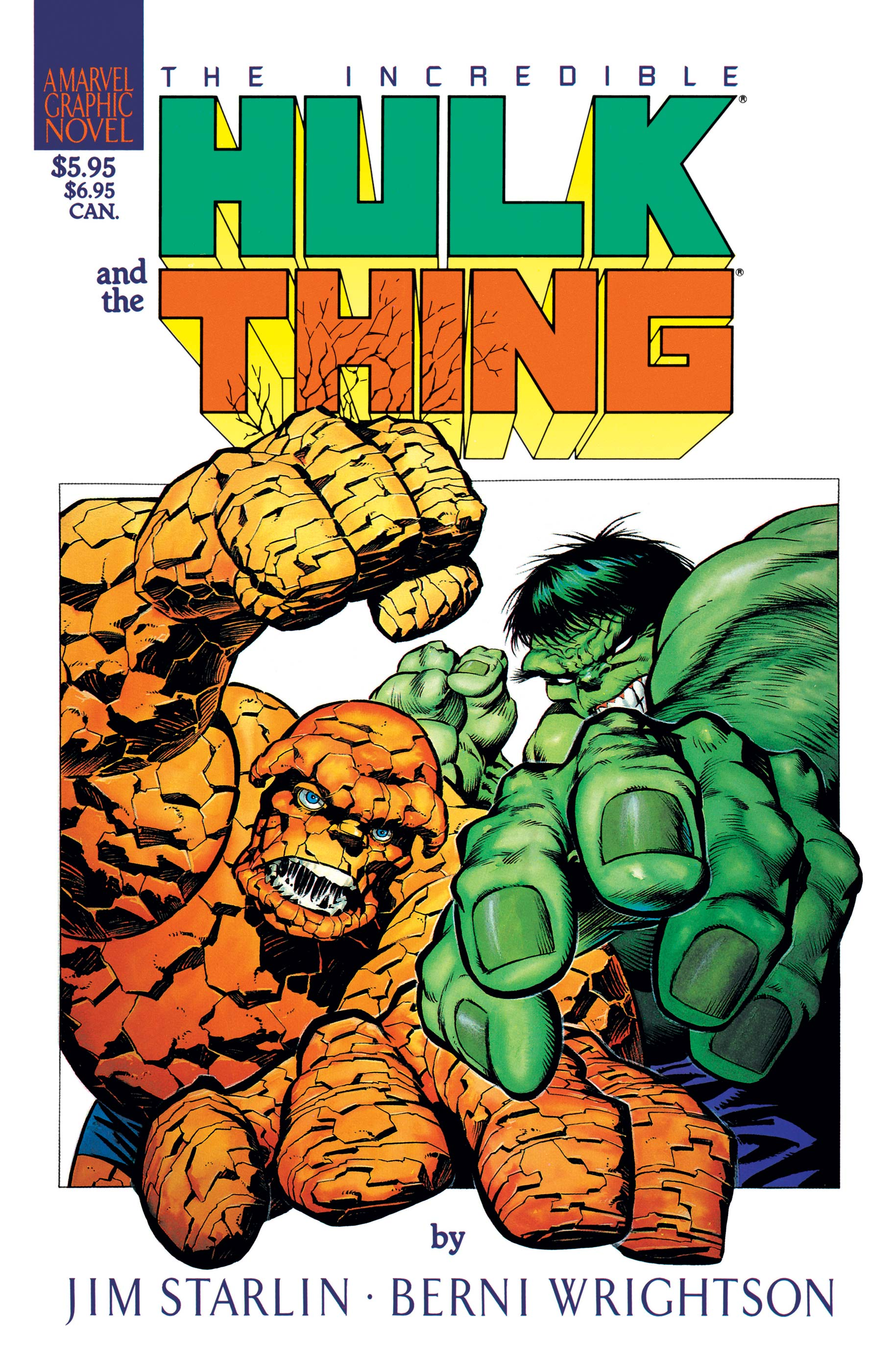 Hulk/Thing - The Big Change (1982)