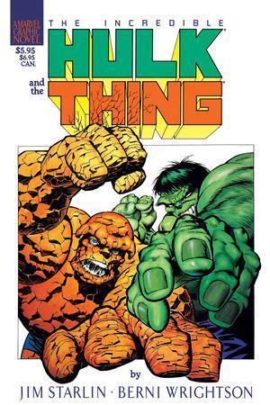 Marvel Graphic Novel: Hulk/Thing - The Big Change (Trade Paperback)
