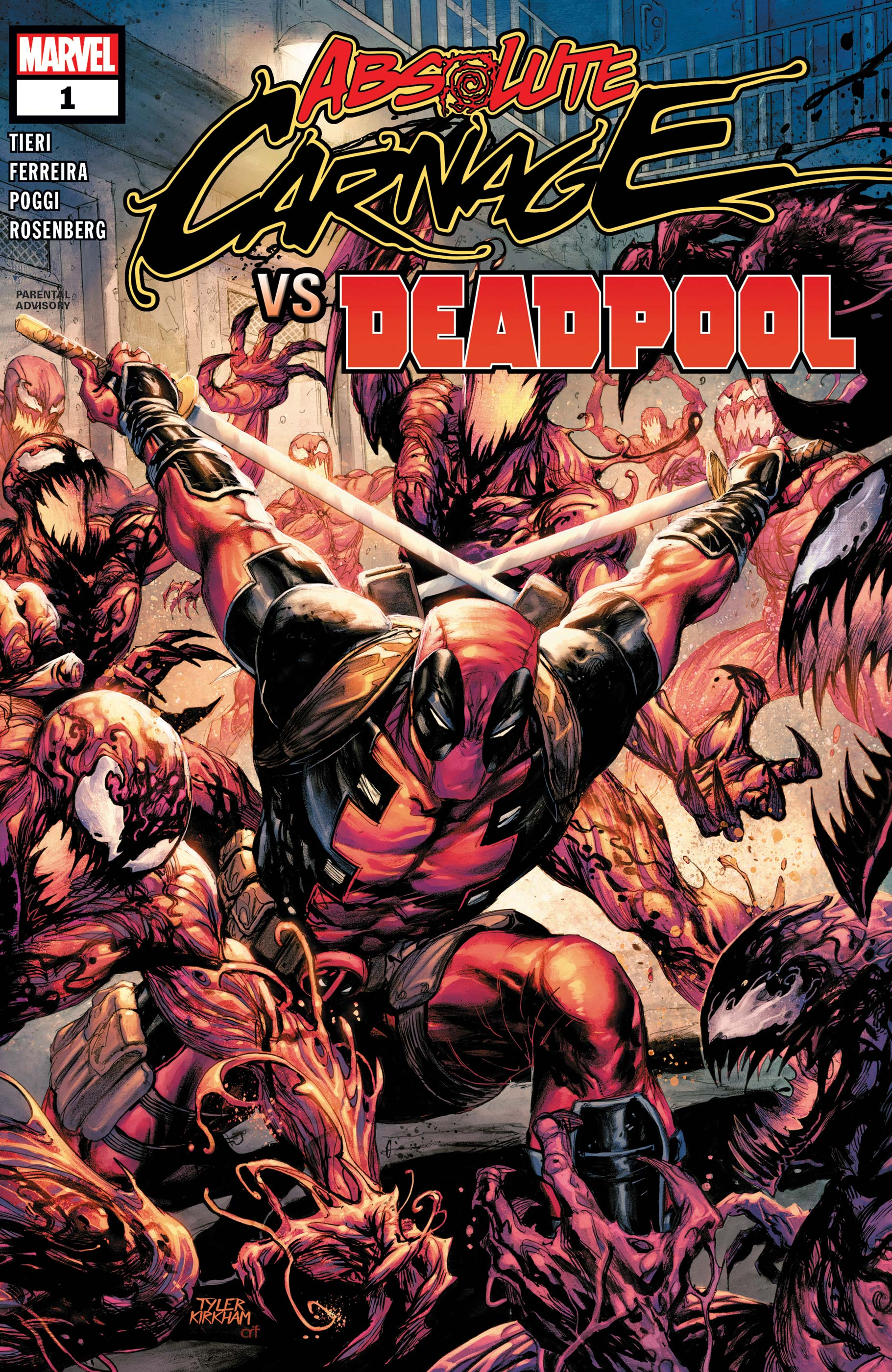 Absolute Carnage Vs. Deadpool (2019) #1