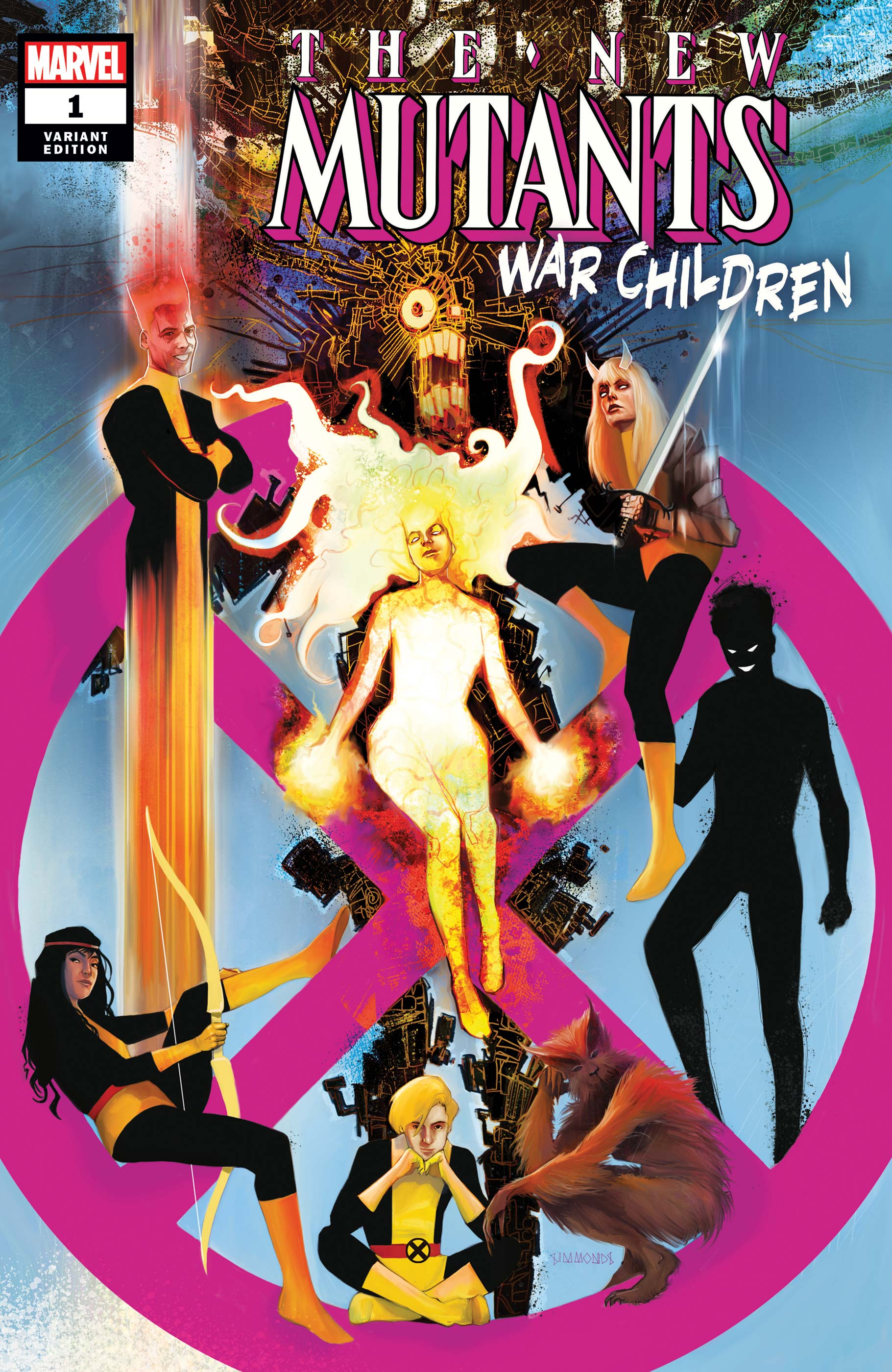 New Mutants: War Children (2019) #1 (Variant)