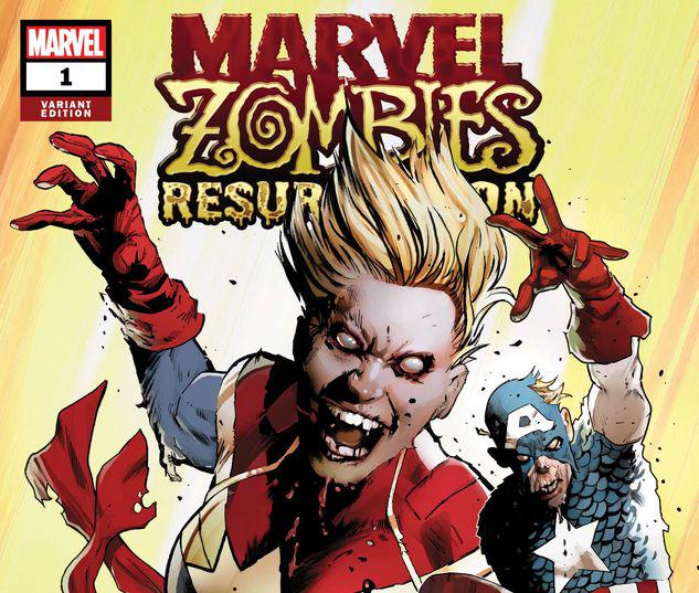 MARVEL ZOMBIES: RESURRECTION 1 LAND VARIANT #1