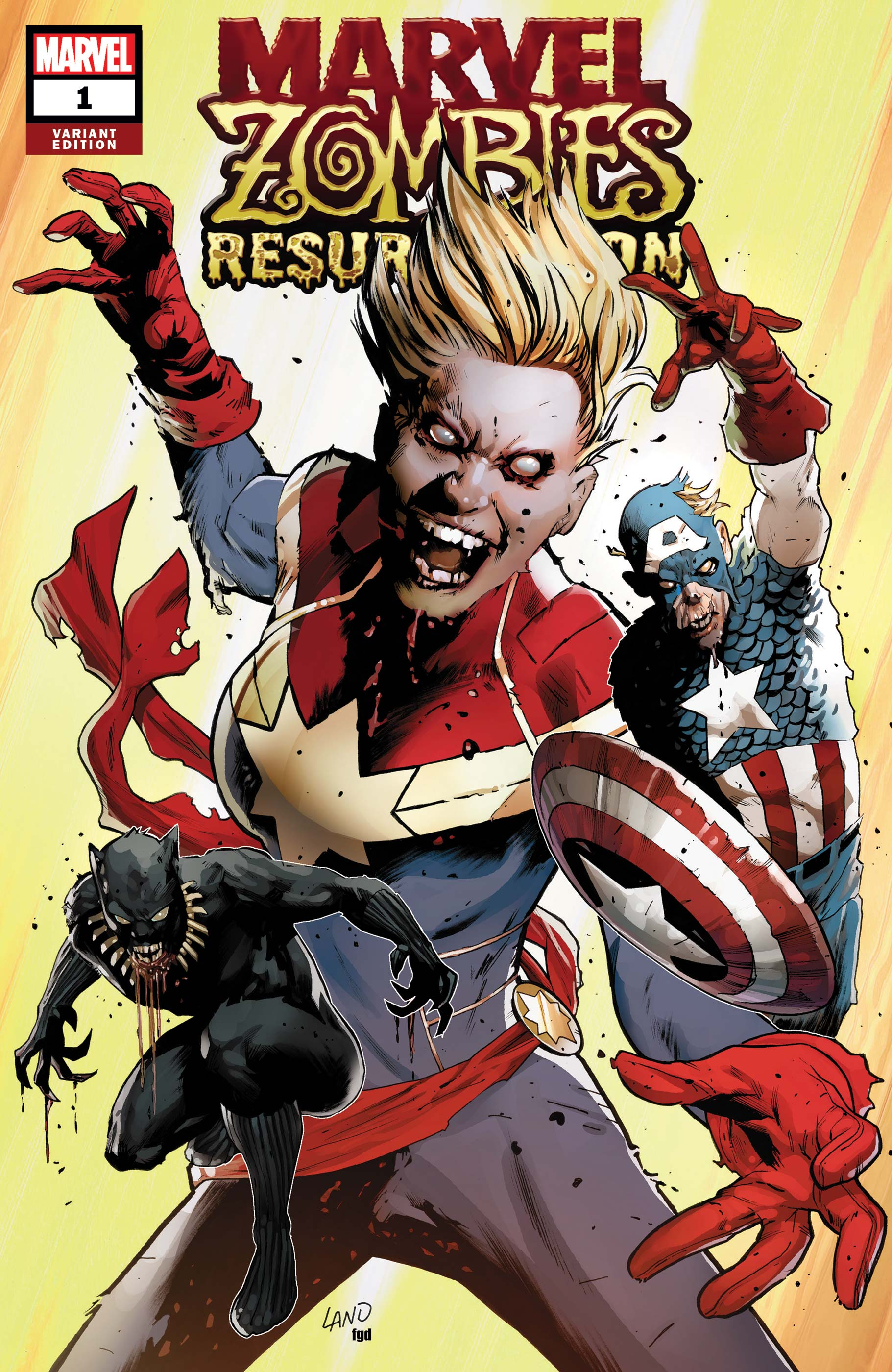 Marvel Zombies: Resurrection (2019) #1 (Variant)