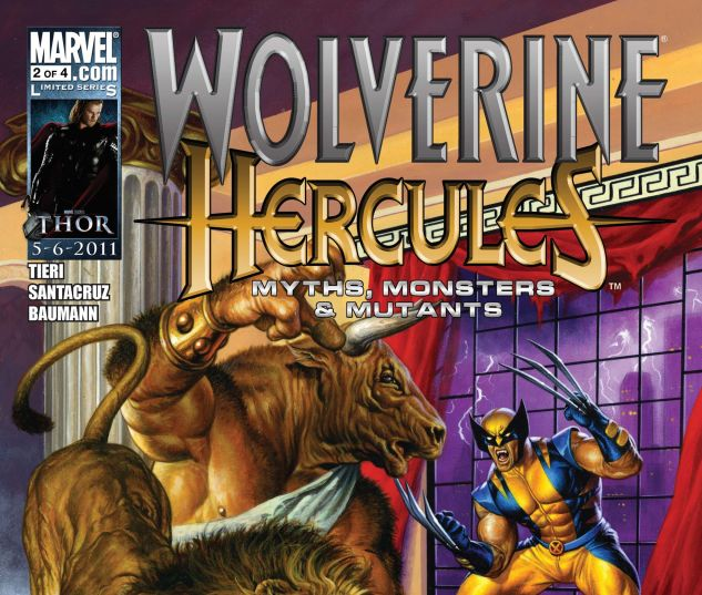 WOLVERINE/HERCULES: MYTHS, MONSTERS & MUTANTS (2010) #2