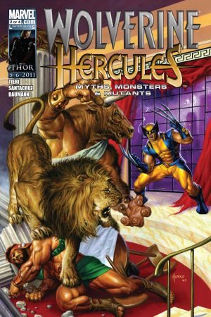 Wolverine/Hercules: Myths, Monsters & Mutants #2