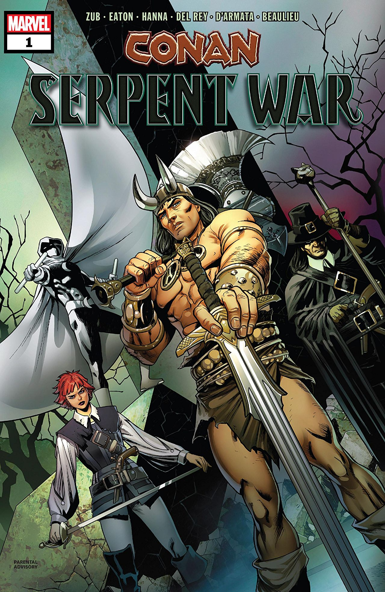 Conan: Serpent War (2019) #1