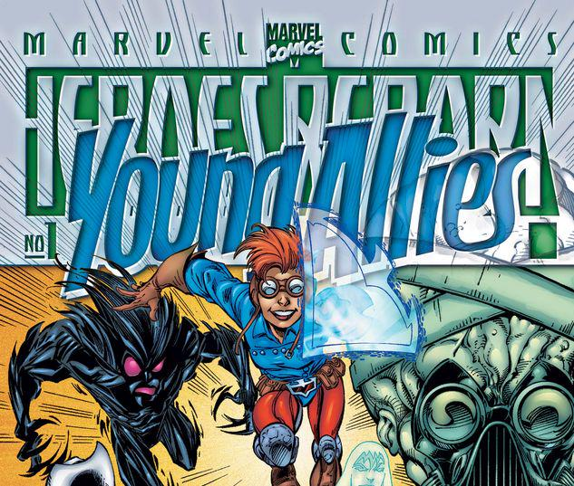 HEROES REBORN YOUNG ALLIES 1 #1