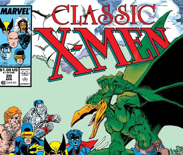 CLASSIC X-MEN (1986) #20