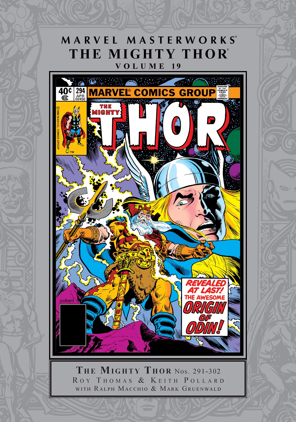 Marvel Masterworks: The Mighty Thor Vol. 19 (Hardcover)