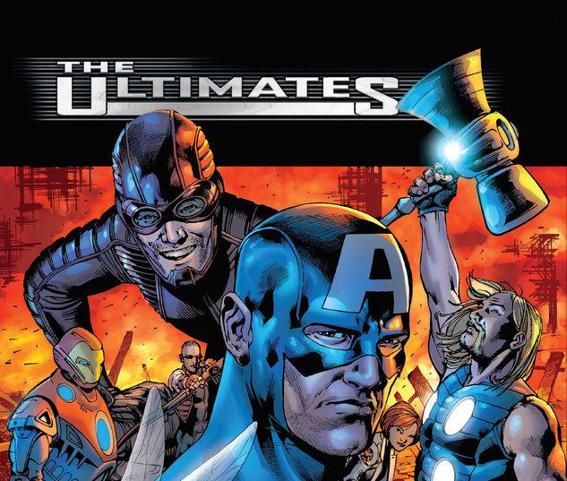 ULTIMATES BY MARK MILLAR & BRYAN HITCH OMNIBUS HC #1