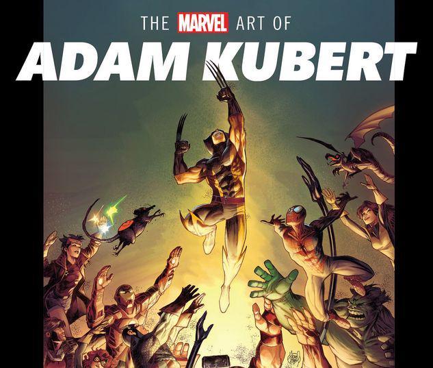 THE MARVEL ART OF ADAM KUBERT HC #1
