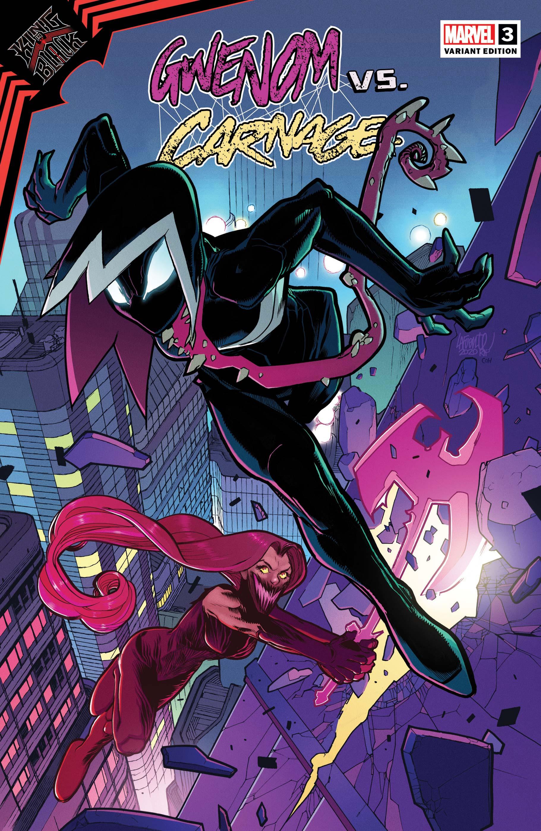 King in Black: Gwenom Vs. Carnage (2021) #3 (Variant)