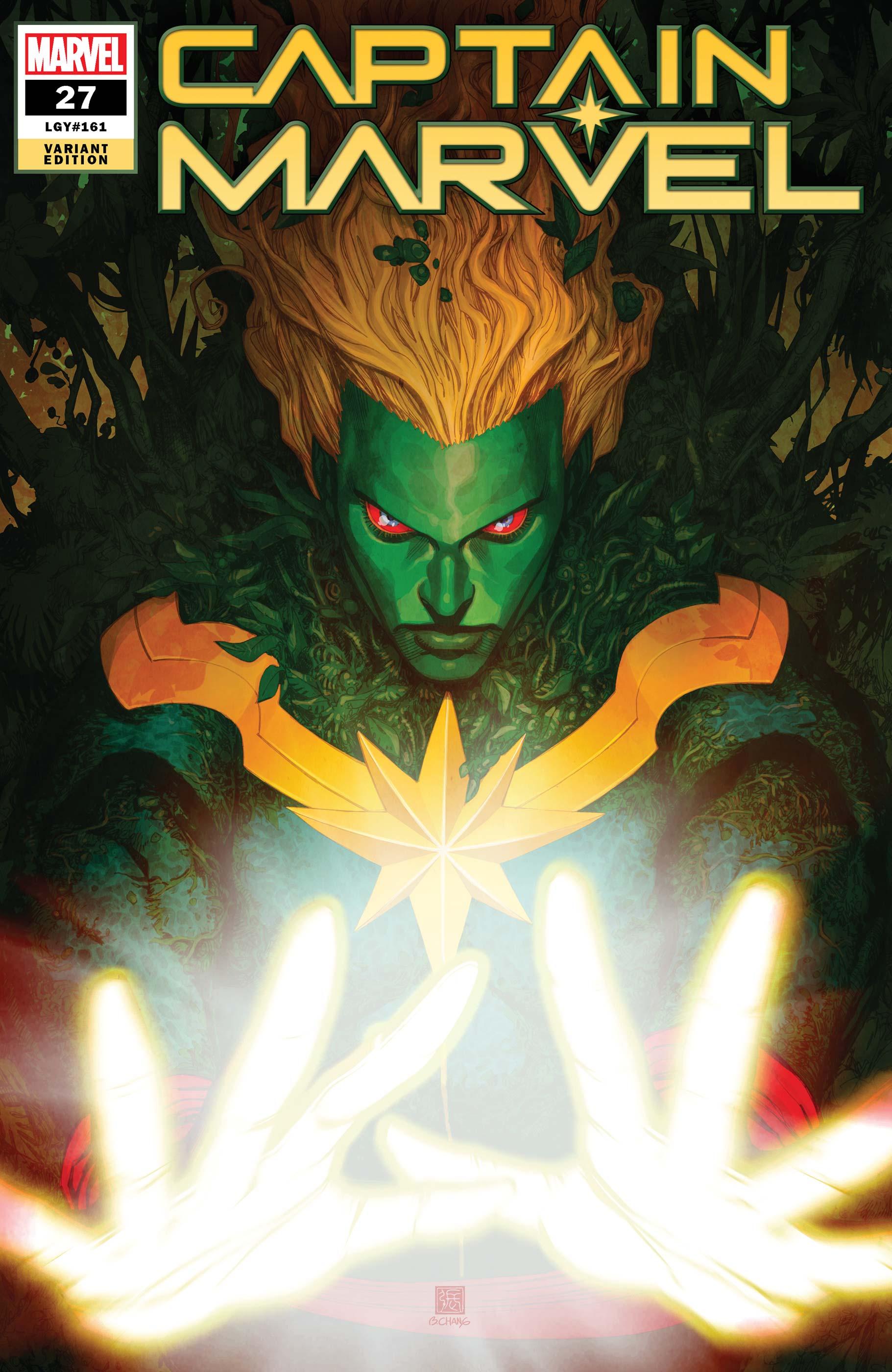 Captain Marvel (2019) #27 (Variant)