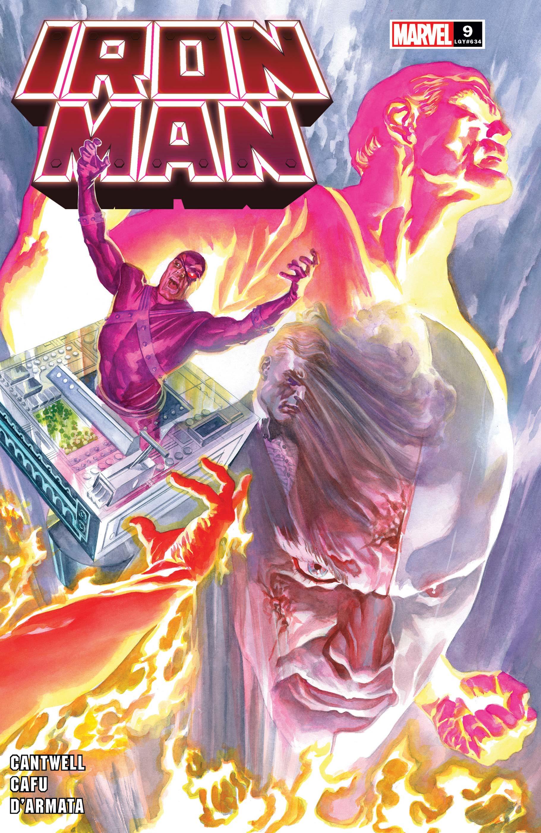 Iron Man (2020) #9