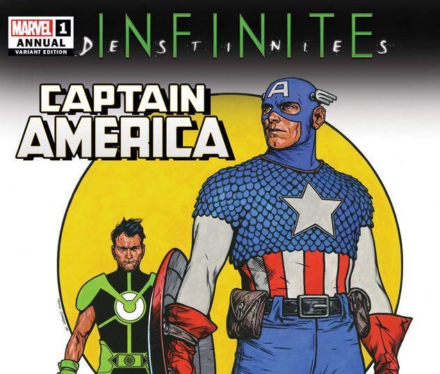 CAPTAIN AMERICA ANNUAL 1 CHAREST VARIANT #1