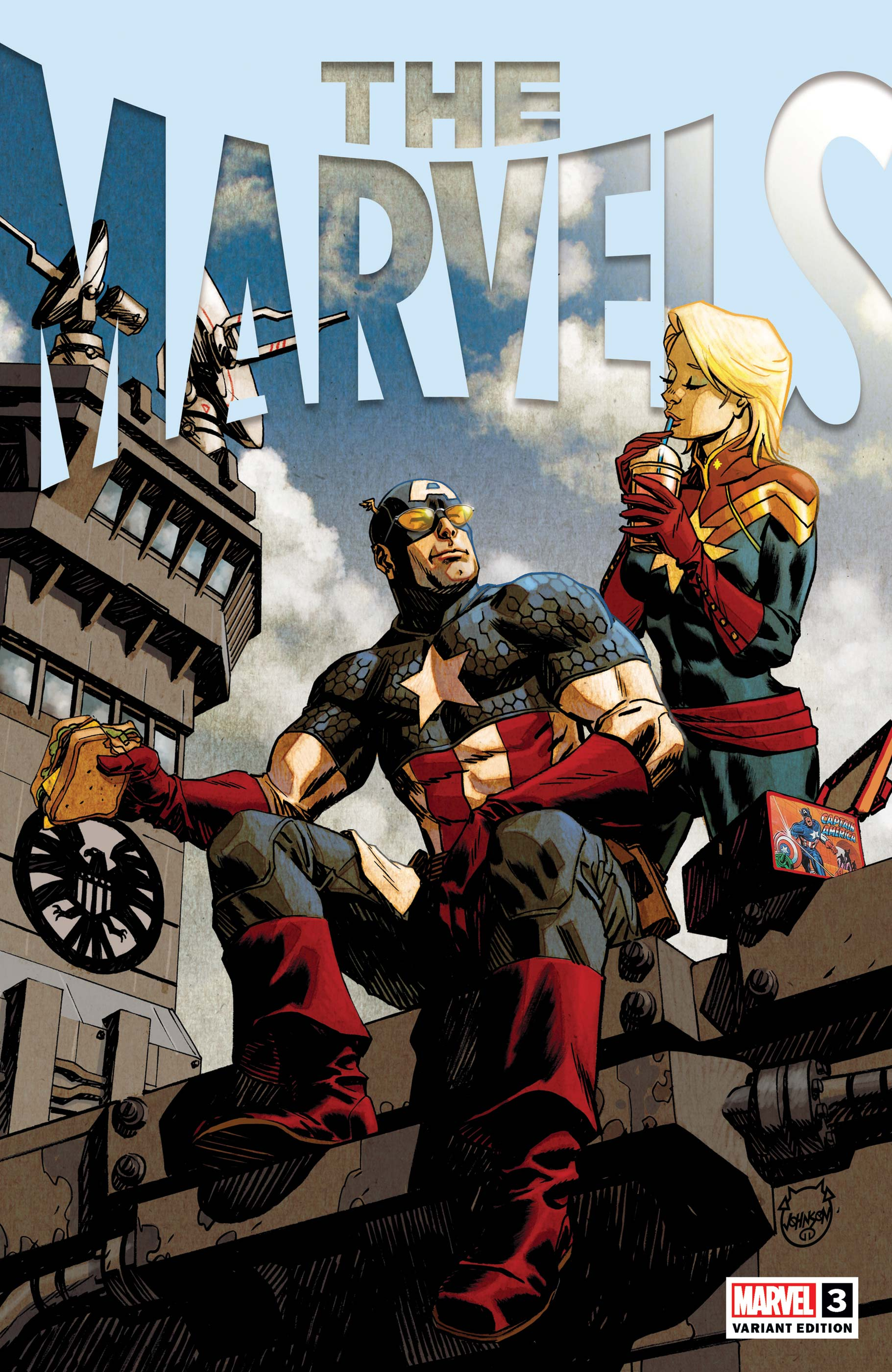 The Marvels (2021) #3 (Variant)
