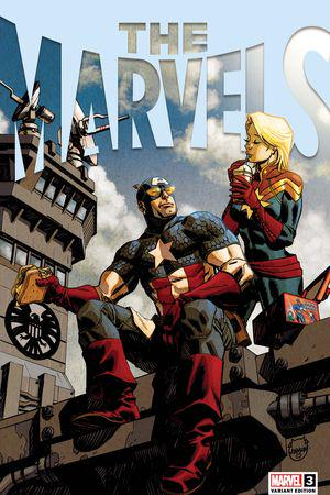 The Marvels #3  (Variant)