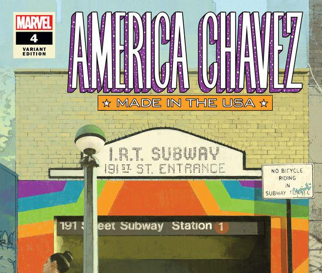 America Chavez: Made in the Usa #4