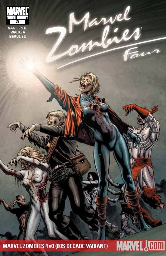 Marvel Zombies 4 (2009) #3 (80s Decade)