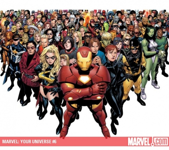 Marvel: Your Universe (2009) #6