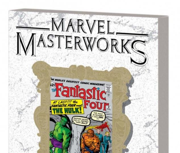 MARVEL MASTERWORKS: THE FANTASTIC FOUR (VARIANT DM ONLY)