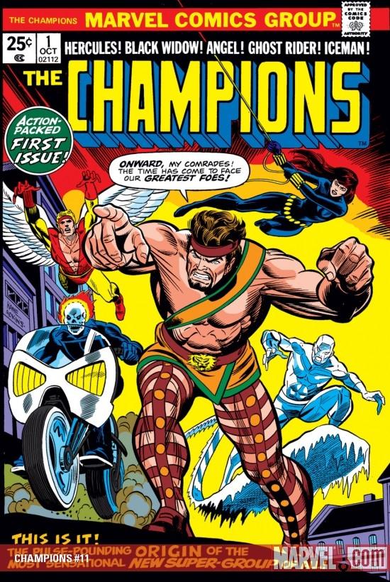 Champions (1975) #11