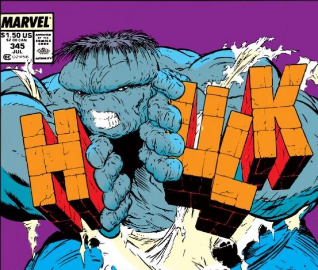 INCREDIBLE HULK #345 COVER