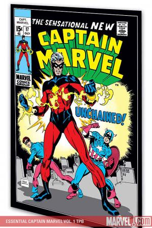 Essential Captain Marvel Vol. 1 (Trade Paperback)
