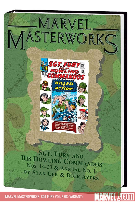 Marvel Masterworks: Sgt. Fury Vol. 2 (Hardcover)
